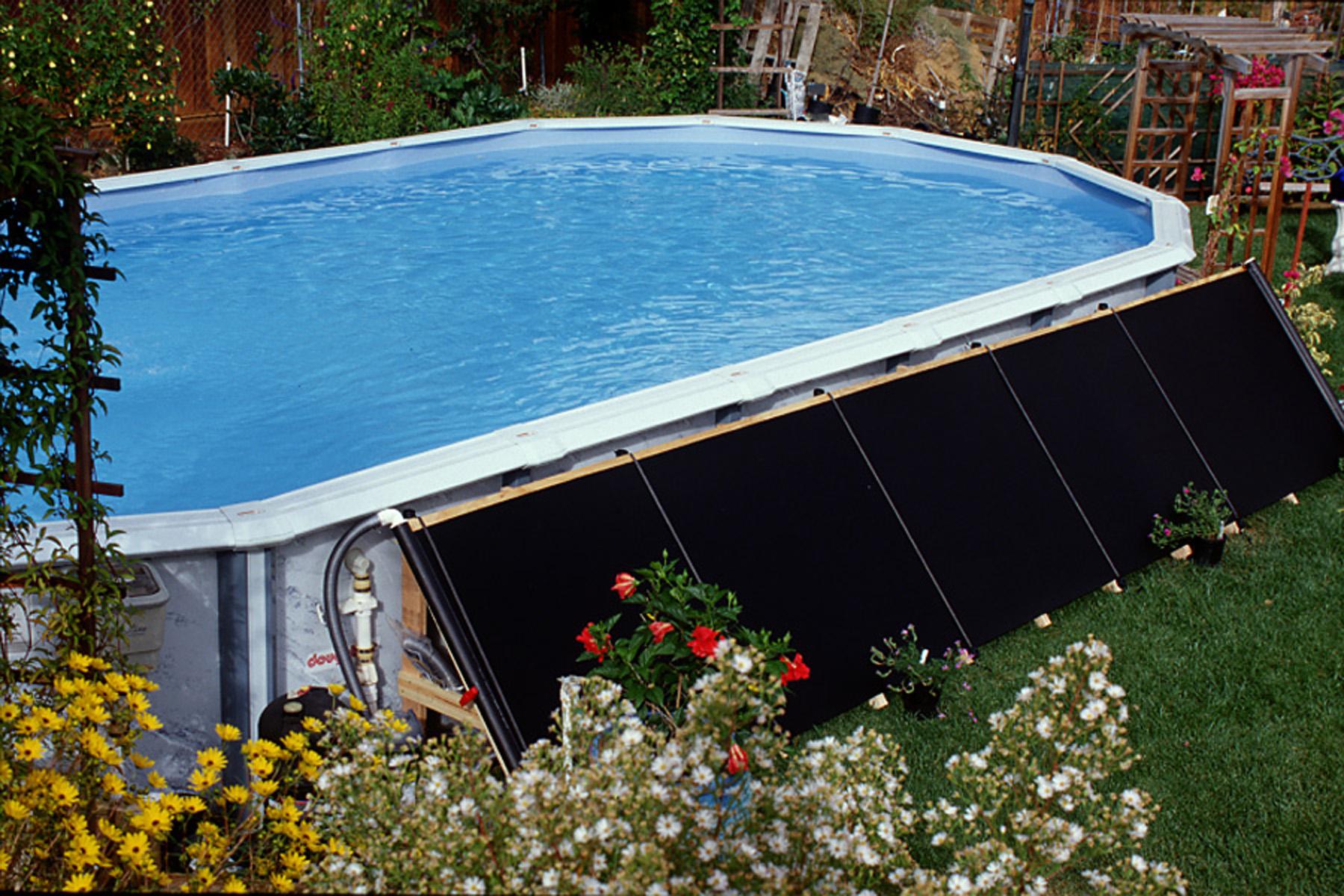 Подогрев воды в бассейне своими руками - инструкция с фото и видео