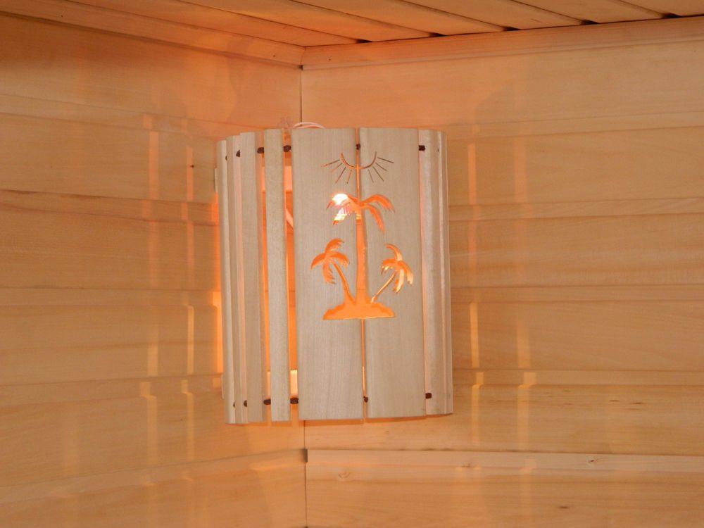 Абажур для бани: как установить угловой плафон из гималайской соли