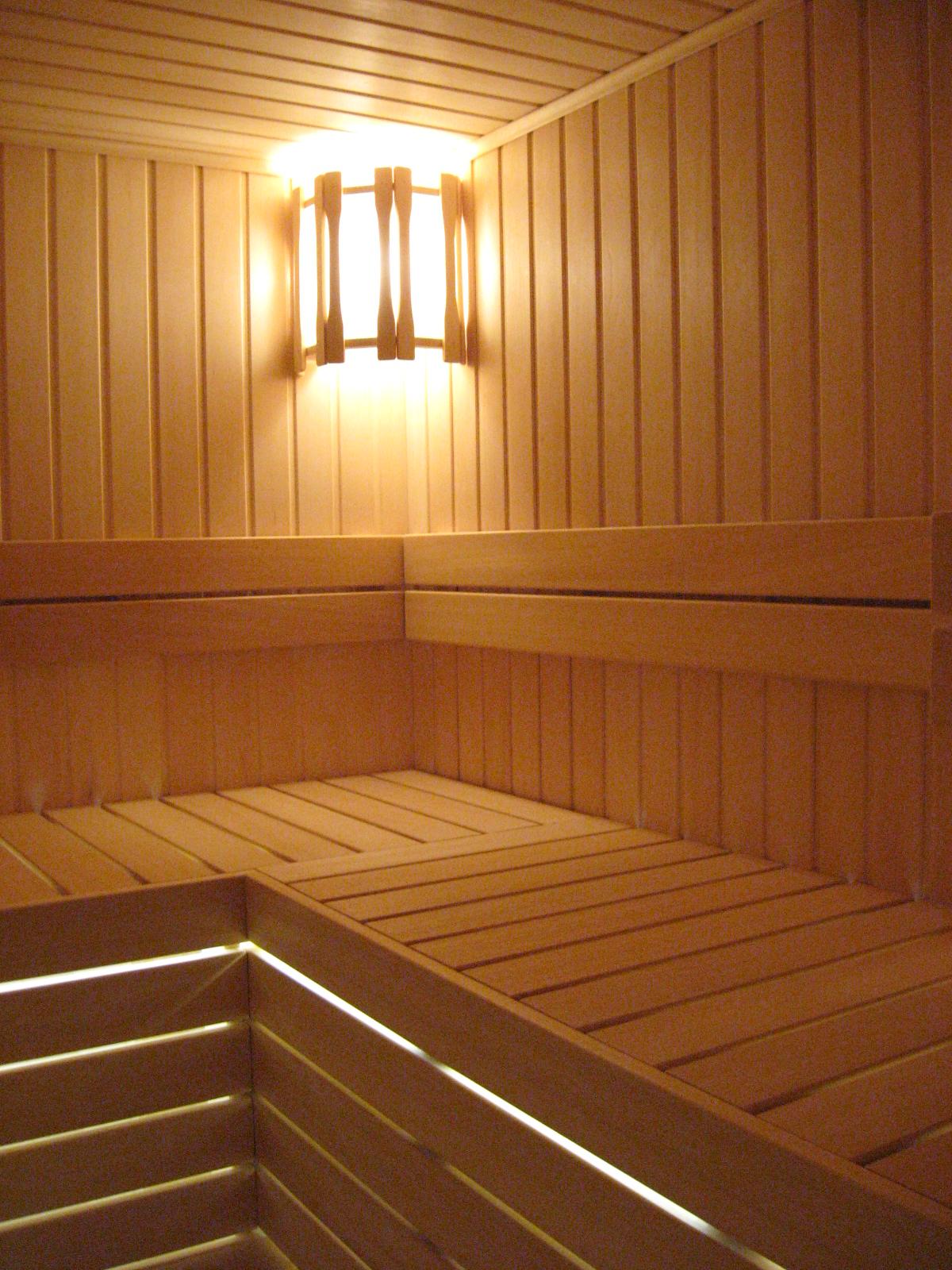 Освещение в бане: как сделать светильники своими руками