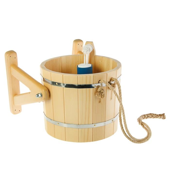 Ведро обливное для бани: деревянное банное ведро для обливания в сауне своими руками