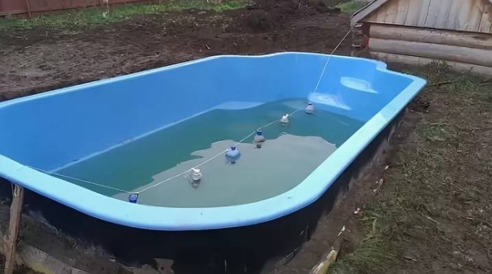 Как сложить каркасный бассейн на зиму