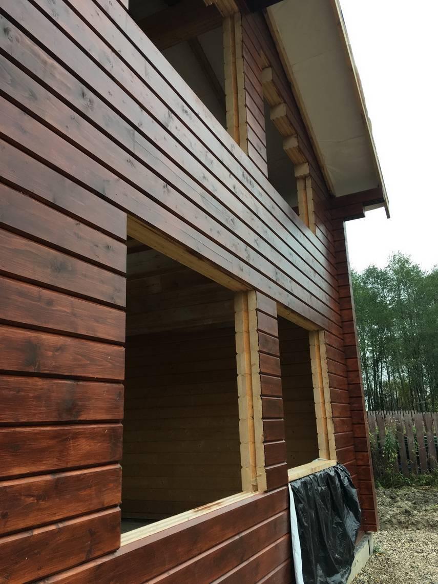 Имитация бруса для наружной отделки дома – разновидности материалов, порядок работ