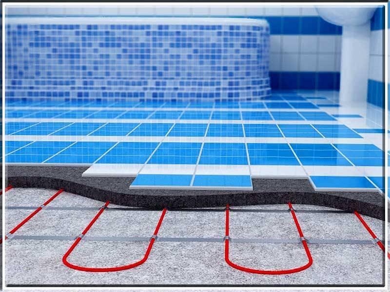 Особенности устройства электрического и водяного теплого пола в бане