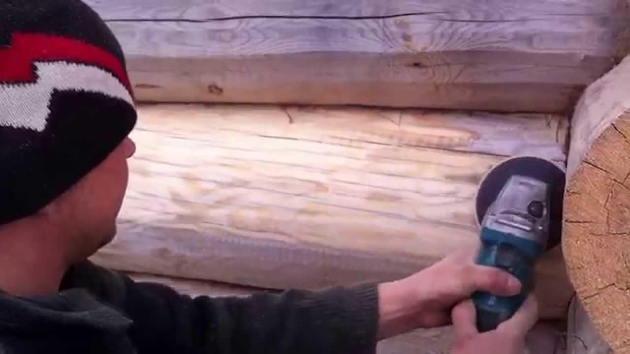 Шлифовка сруба своими руками: ценные советы строителей