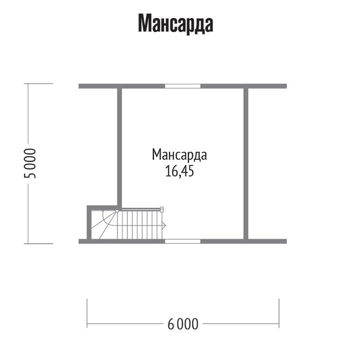 Проект с фото и планировка бани 5х5 с мансардой и без нее