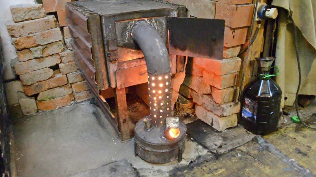 Печь для гаража на отработке своими руками - всё о строительстве дома