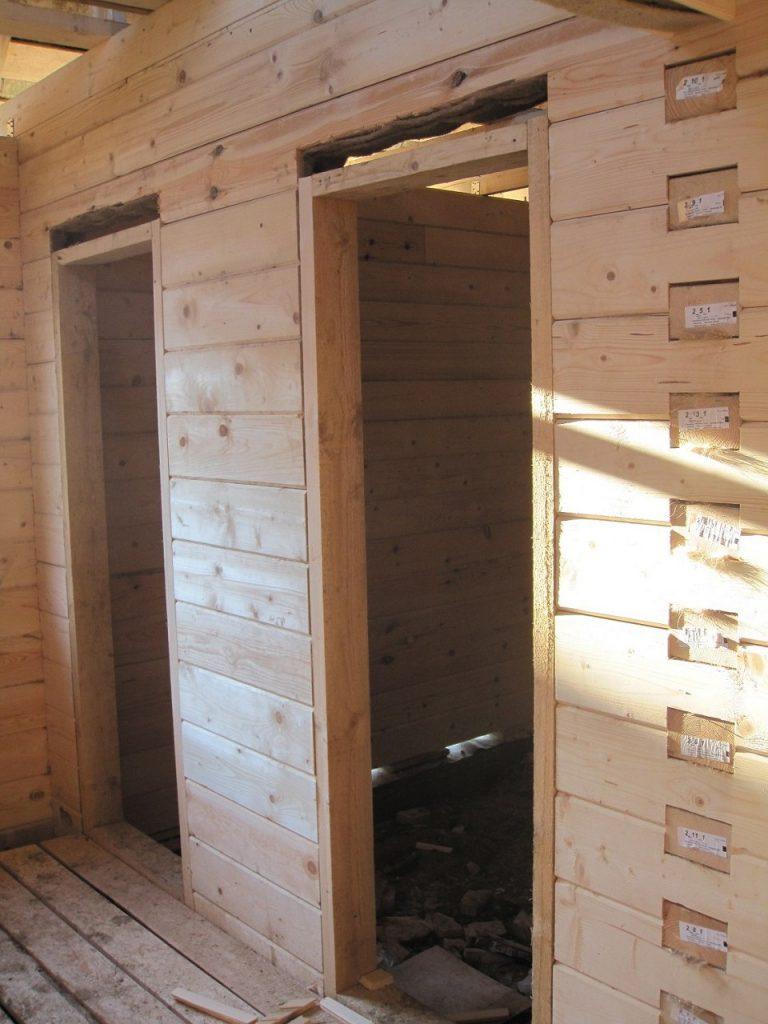 Какую дверь поставить бане