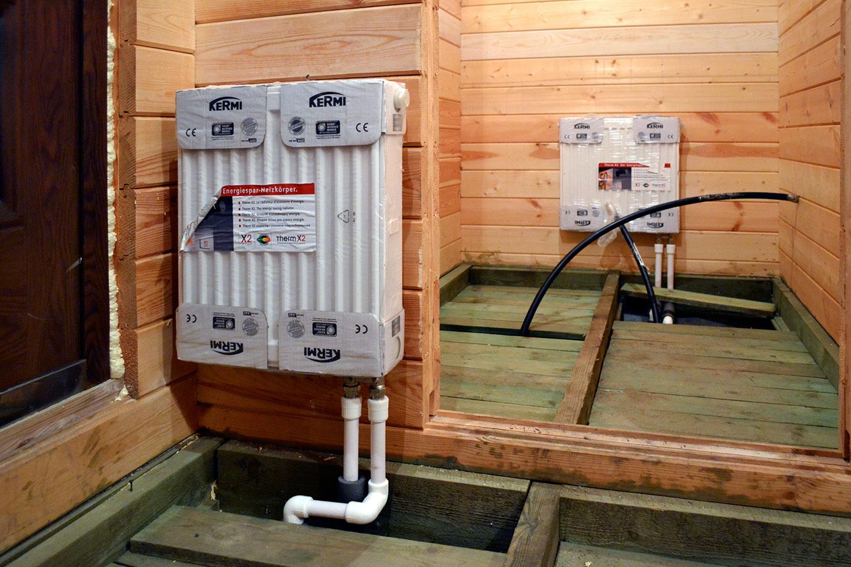 Отопление в бане: как сделать обогрев от печи своими руками, дровами, газом, электричеством