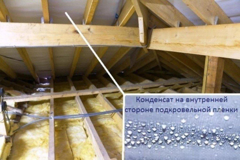 Как утеплить потолок в бане?