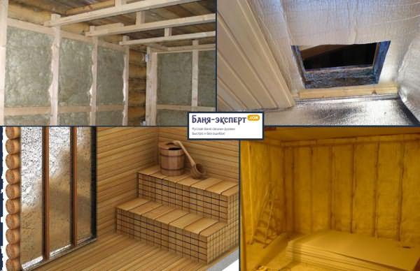 Чем лучше утеплить баню из пеноблока внутри. чем утеплить стены бани из пеноблоков? отделка бани из пеноблоков пластиком