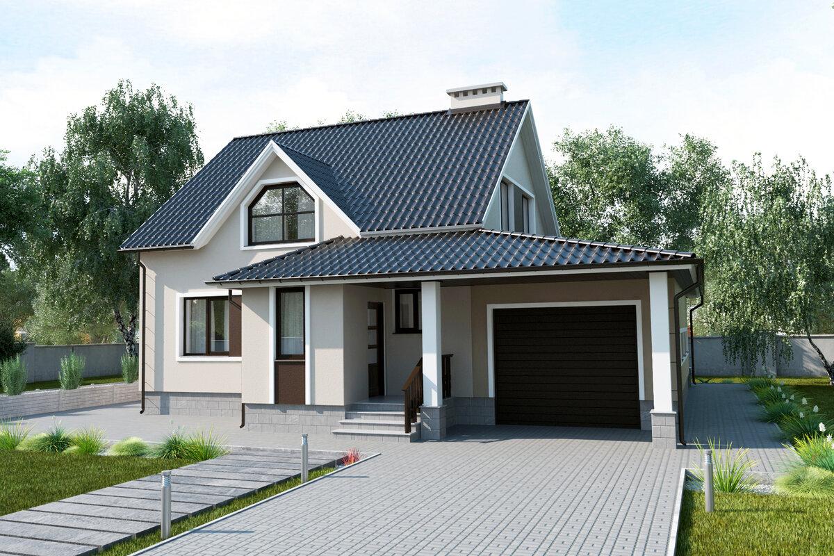 11 рекомендаций по созданию проектов домов с баней и гаражом [+5 фото]