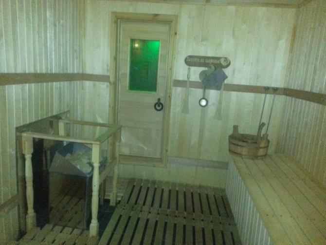 Баня в гараже своими руками - строим баню или сауну