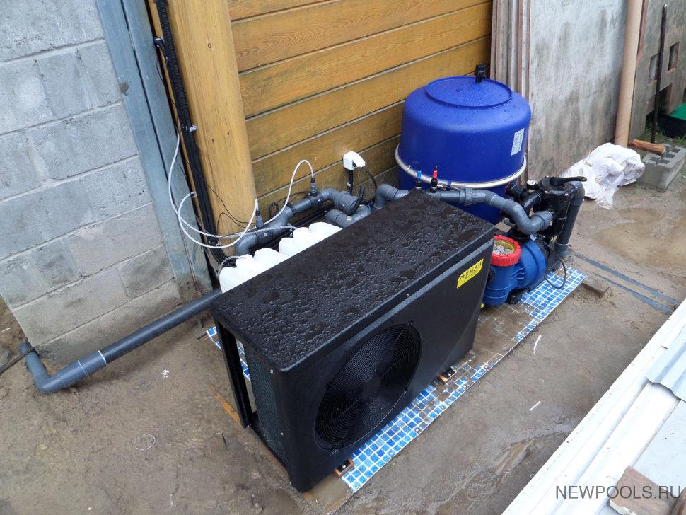 Подогрев воды в стационарном бассейне: нагревательные устройства и характеристики