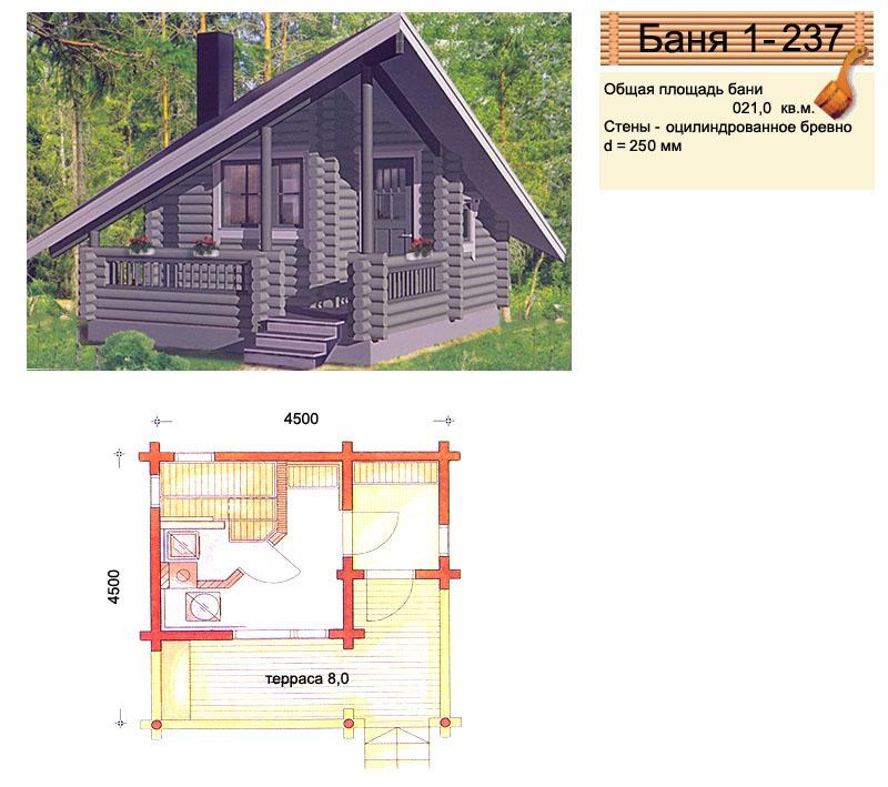 4 этапа создания проекта бани [+13 фото]