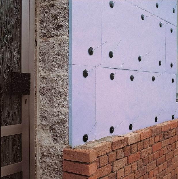 Как крепить утеплитель к кирпичной стене - строим баню или сауну