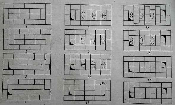 Банные печи кузнецова: чертежи и порядовка