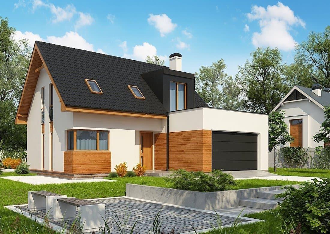 Проекты домов с гаражом +100 фото: под одной крышей, двухэтажного