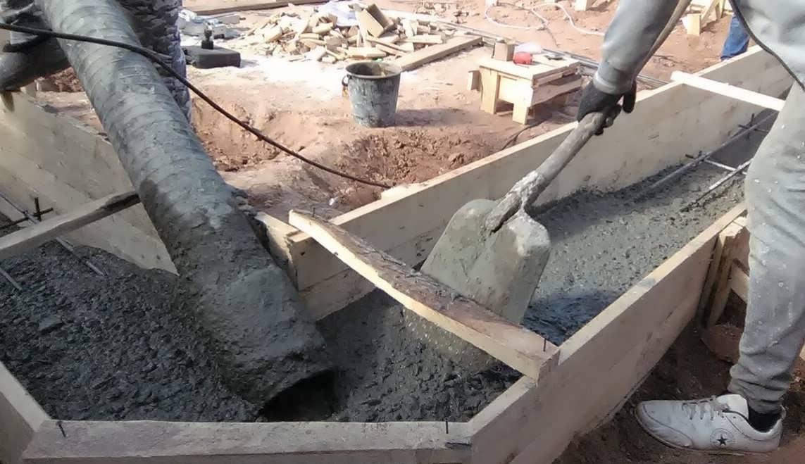 Какой бетон нужен для фундамента бани (обзор лучших марок)