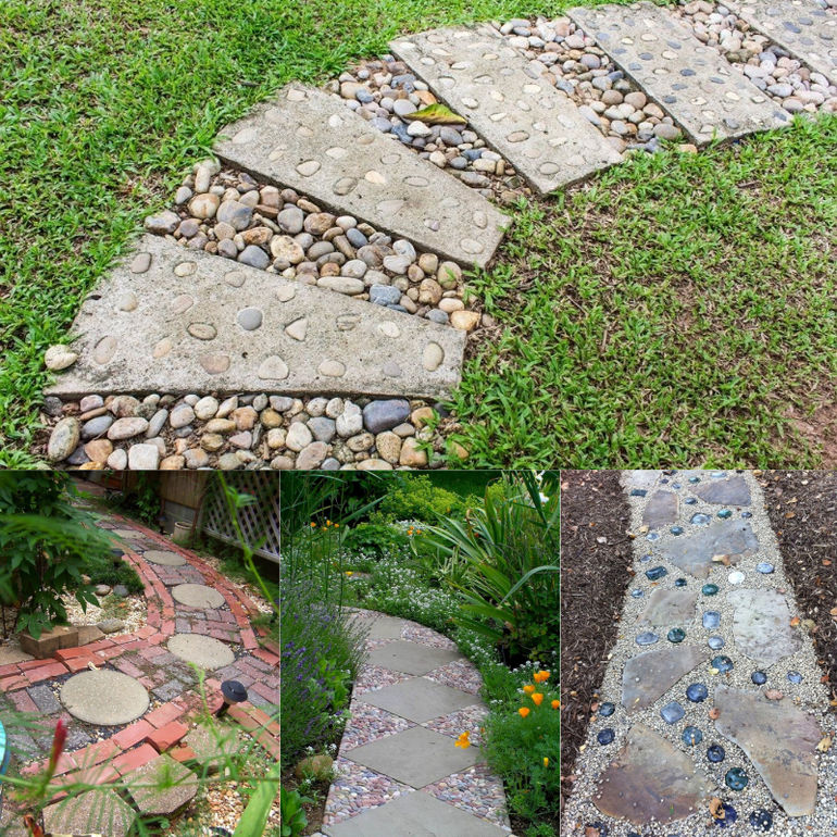 Как подготовить и залить бетонную дорожку для дачи и сада