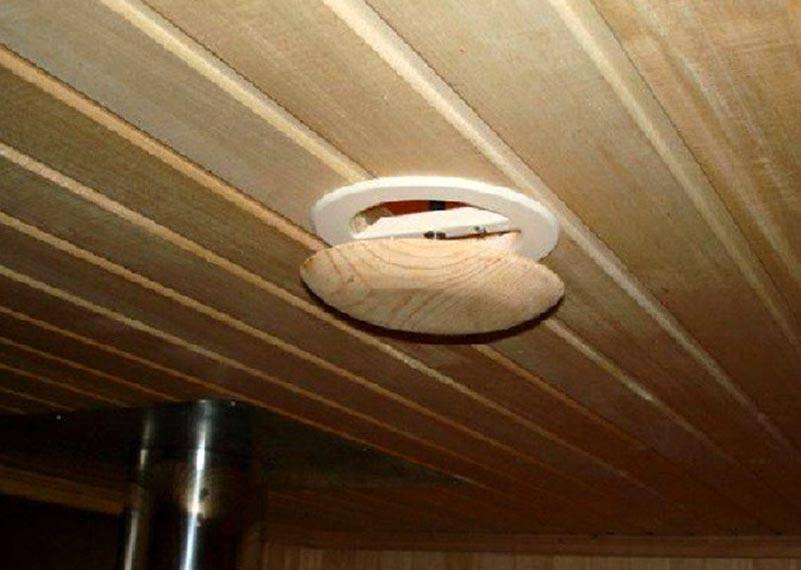 Естественная вентиляция в бане: принципы обустройства и схемы размещения вентиляционных отверстий