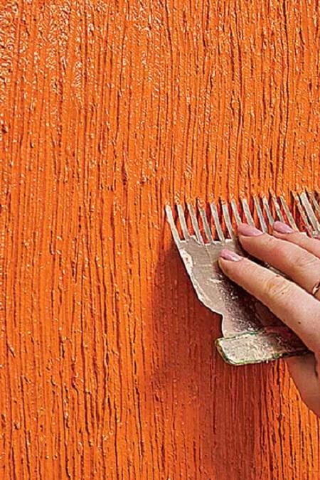 Декоративная штукатурка своими руками: дешёвый вариант дорогой отделки
