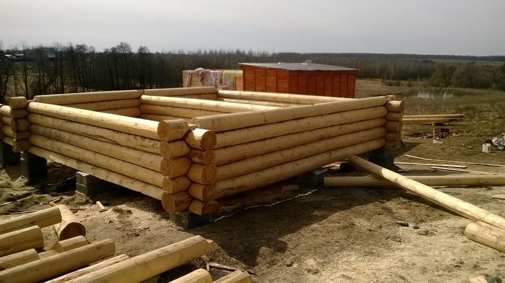 Фундамент для деревянного дома. выбор типа фундамента под сруб дома, бани.
