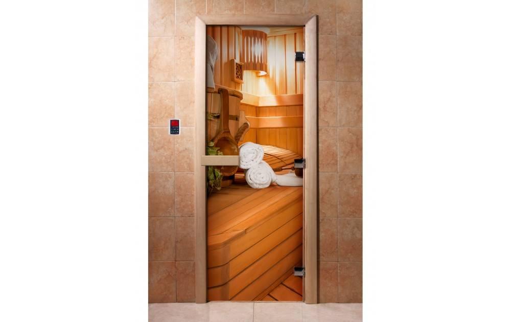 Двери для бани и сауны (входные и в парилку) - выбор и установка