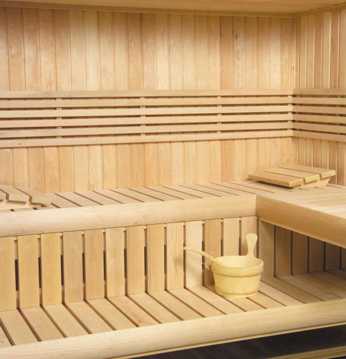 Полки в бане: делаем своими руками