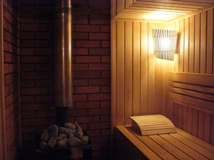 Освещение в бане — каким должен быть свет? — строительство бани