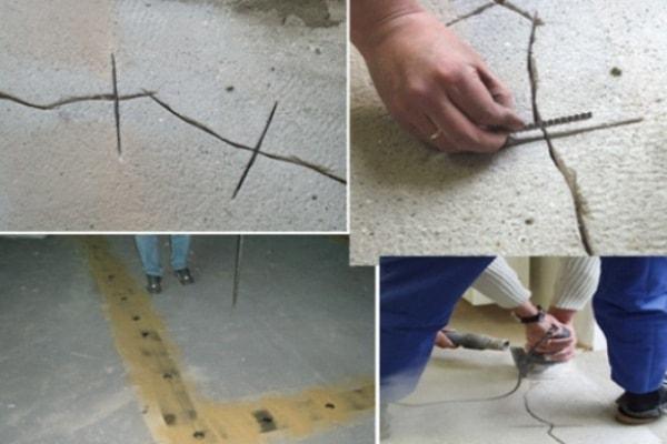 Крупные и мелкие трещины в стяжке пола что делать и как их устранить?