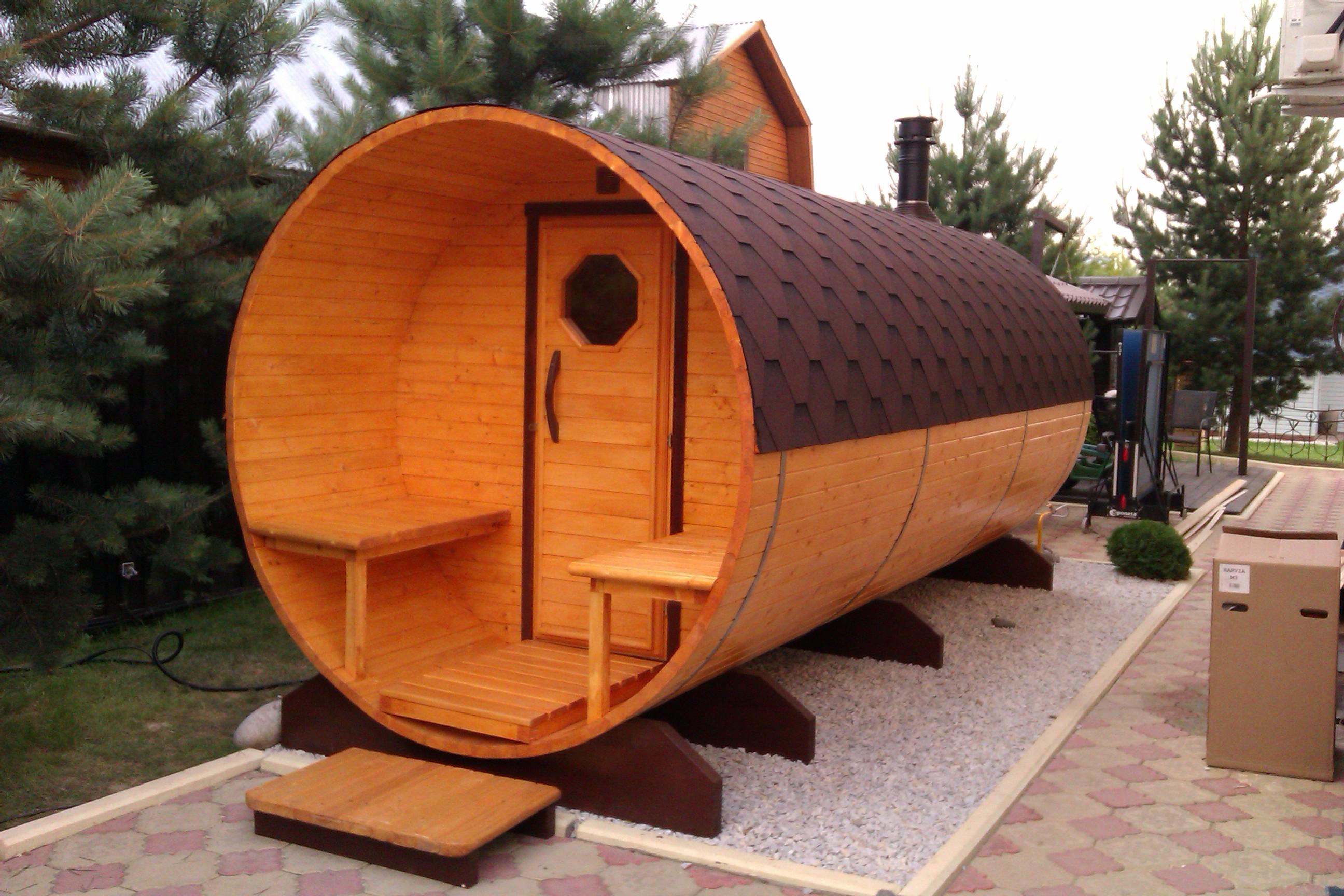Баня бочка (162 фото): недостатки и преимущества, круглые конструкции сауны, как сделать своими руками
