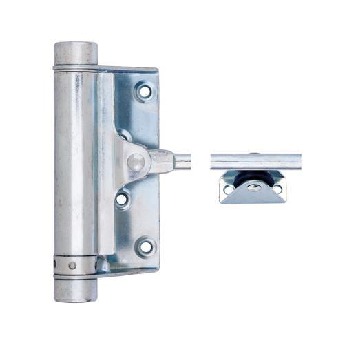 Конструктивные особенности пружинных доводчиков и варианты установки на двери