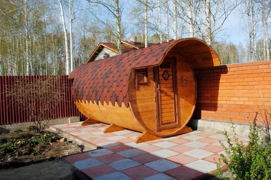 Пошаговое строительство бани на загородном участке своими руками