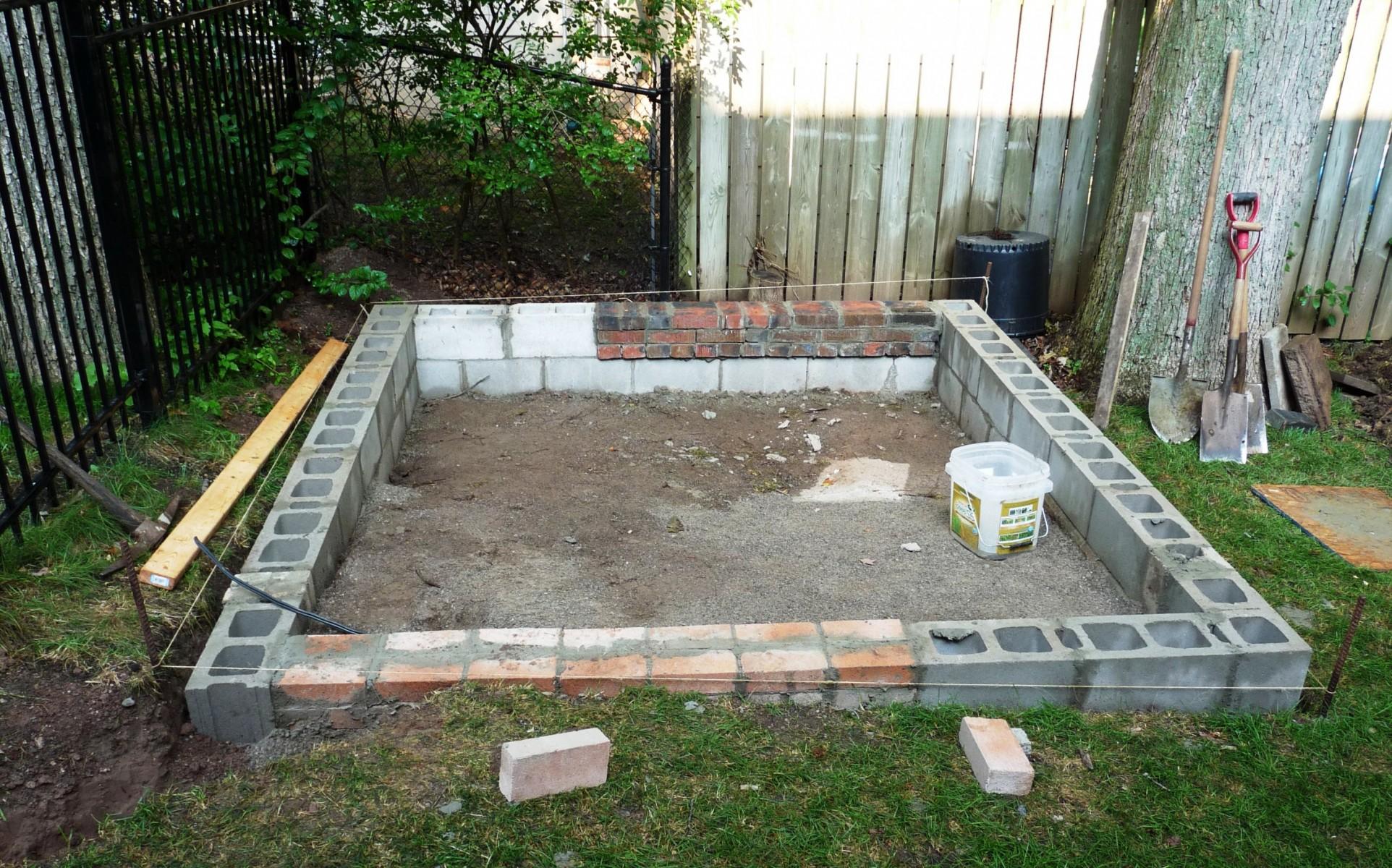 Баня из шлакоблока своими руками: как построить и сделать фундамент