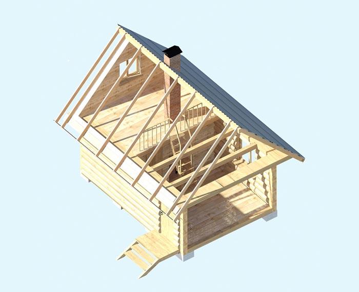 Баня с полатями – оптимальное использование маленького участка. сруб бани с полатями и рубленой верандой требования к заказчикам
