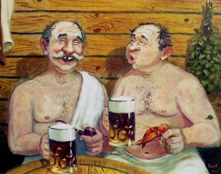 Важно знать - что пить после бани, перед и в процессе отдыха в парной