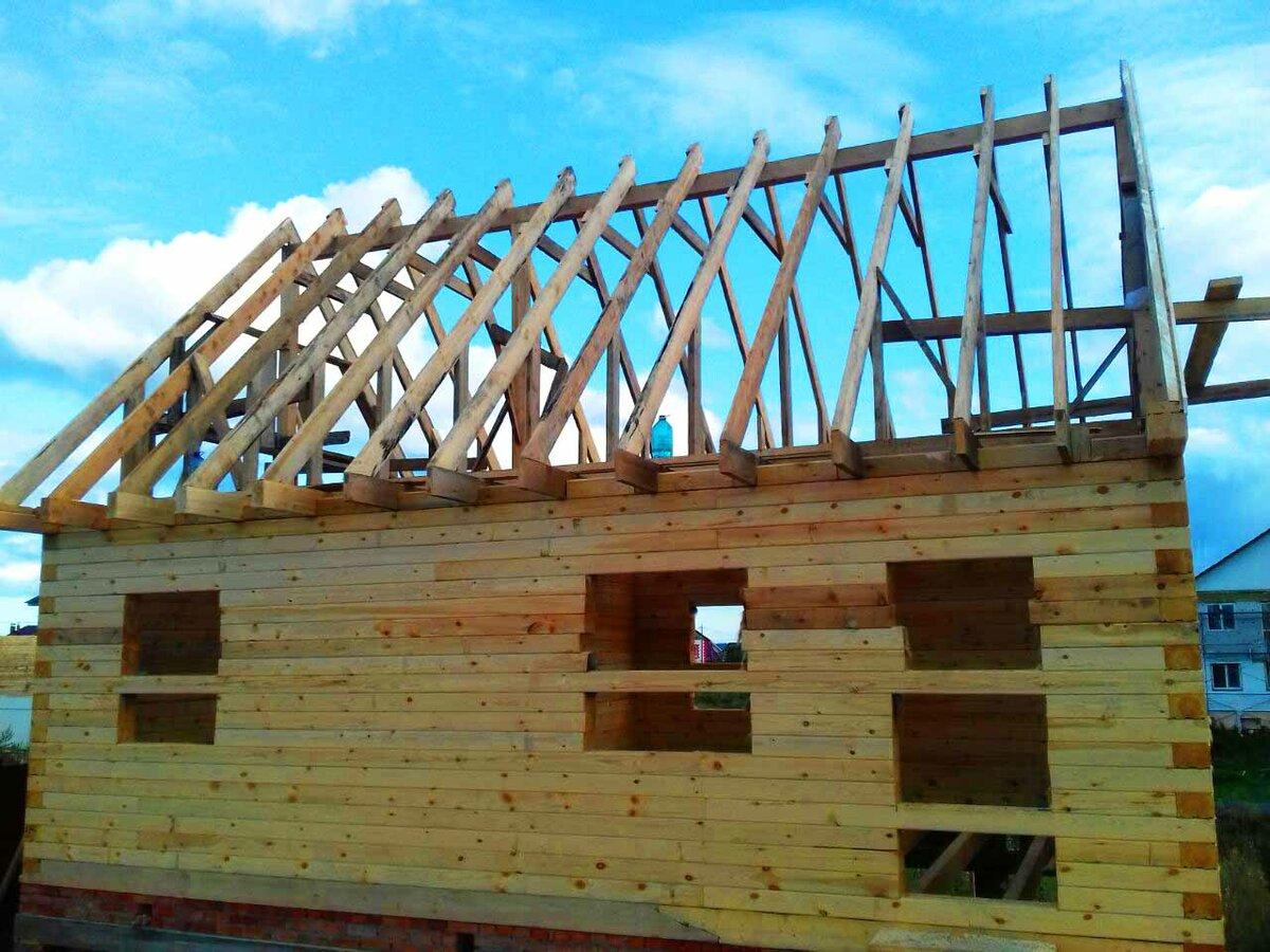 Строительство крыши бани своими руками: советы домашнему мастеру