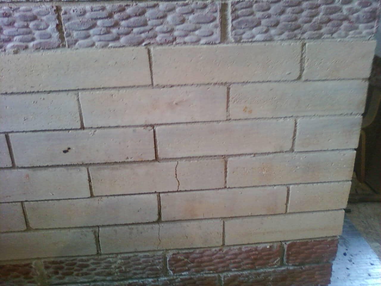 Как заделать трещины в печке из кирпича - постройка