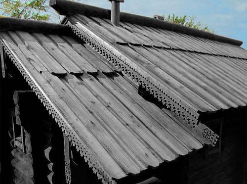 Как пишется слово тесовая крыша