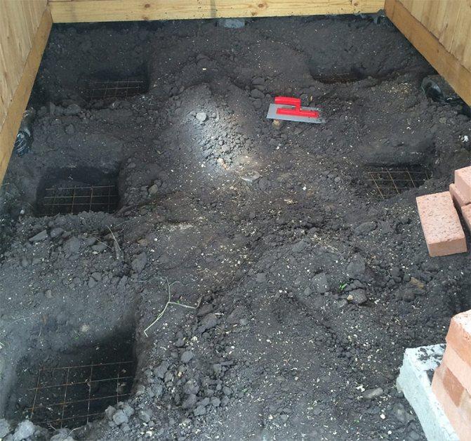 Как правильно сделать бетонный пол в бане