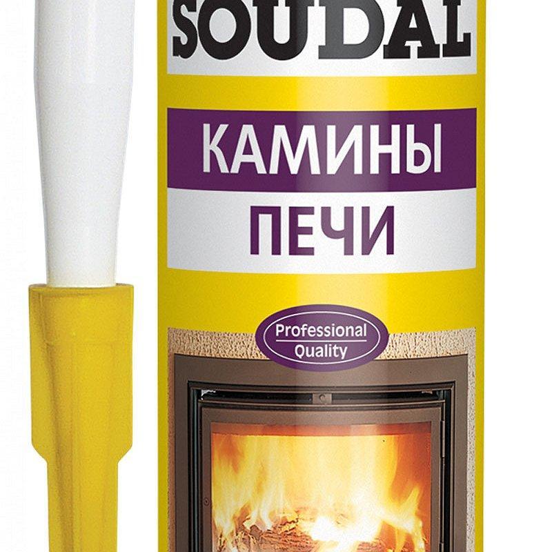Каких видов бывает термостойкий герметик для печей и каминов