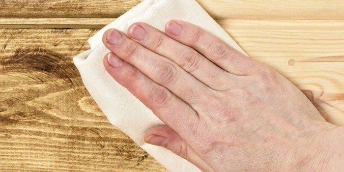 Как убрать плесень в бане с дерева