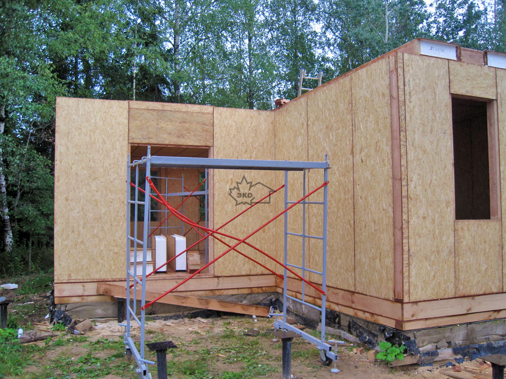 Баня из сип-панелей своими руками: фото, видео строительства баня из сип-панелей своими руками: фото, видео строительства