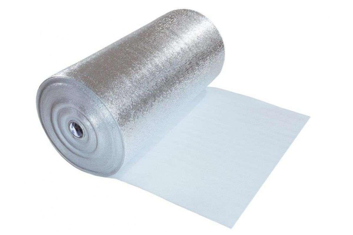 Алюминиевая фольга для утепления бани