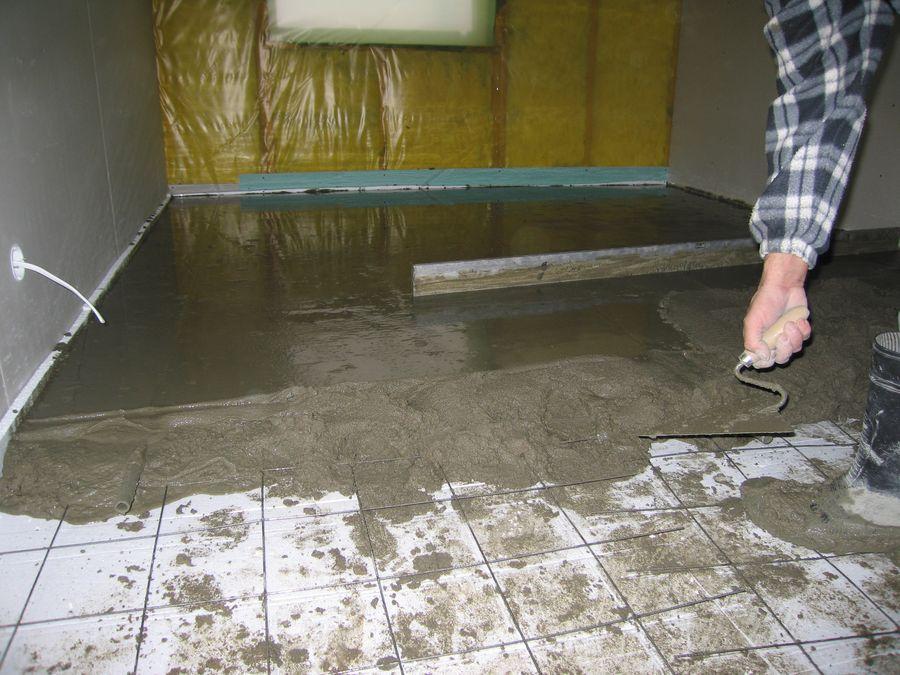 Как залить правильно теплый пол: заливка 3-мя способами водяного пола