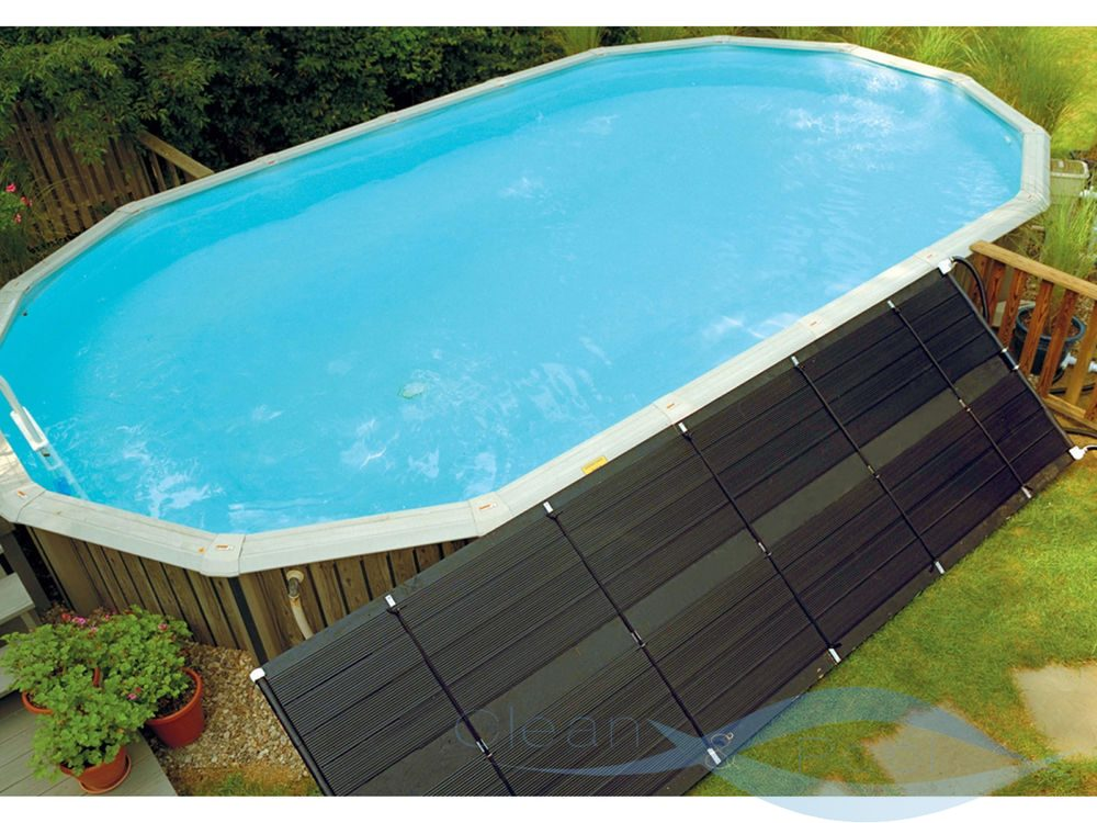 Как сделать подогрев воды в бассейне своими руками