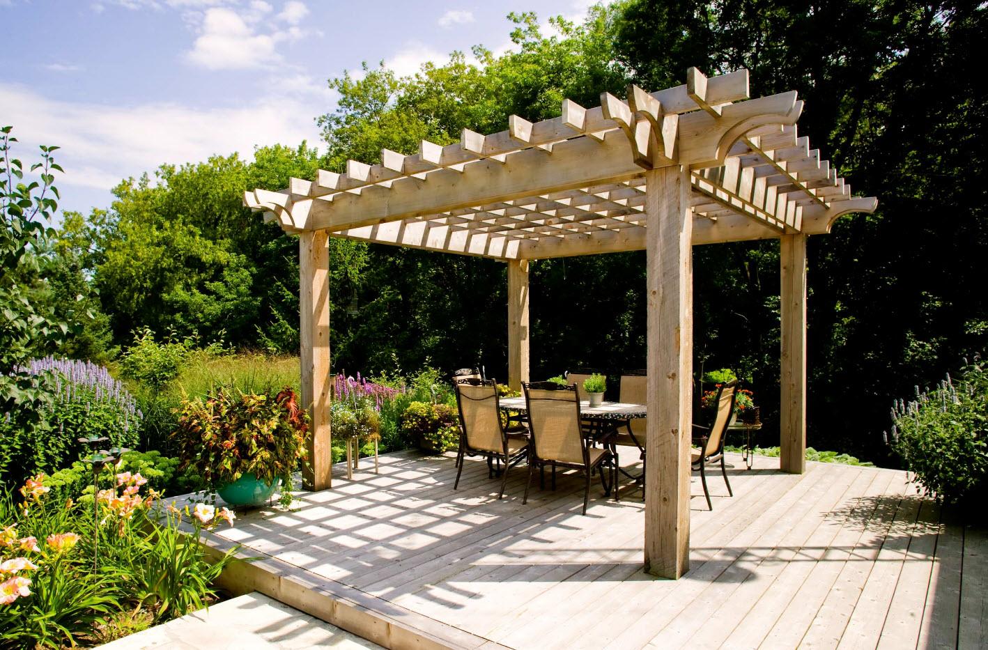 Садовая арка - проекты и идеи по применению в ландшафтном дизайне (145 фото)