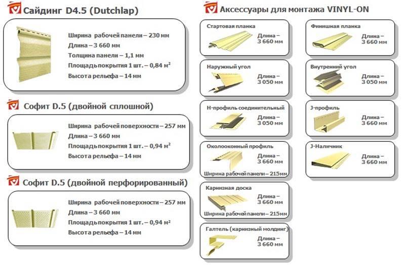 Виды винилового сайдинга для наружной отделки