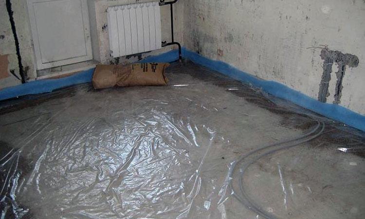 Использование демпферной ленты для стяжки