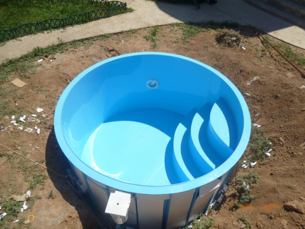 Бассейн пластиковый вкапываемый в землю: можно ли закопать каркасный интекс, как вкопать морозостойкий пластик для дачи